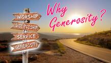 Because Generosity Makes Us More Like Christ (Sat)